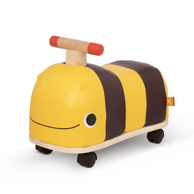 B. Wooden Bee Ride-On