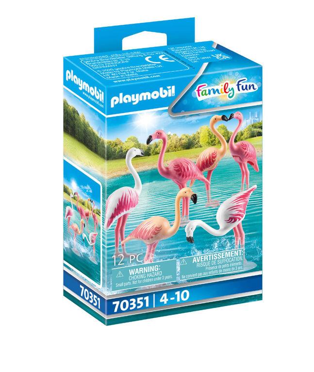 Groupe de flamants roses, Playmobil Family Fun