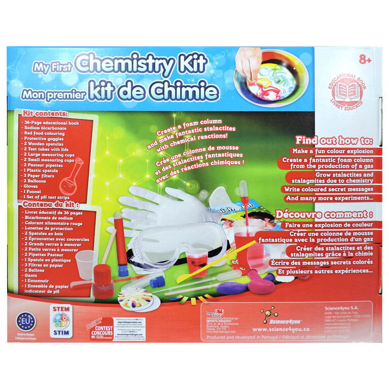 Science4you - My First Chemistry Kit