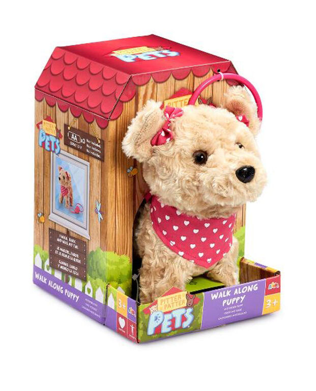 Pitter Patter Pets Walk Along Terrier - R Exclusive