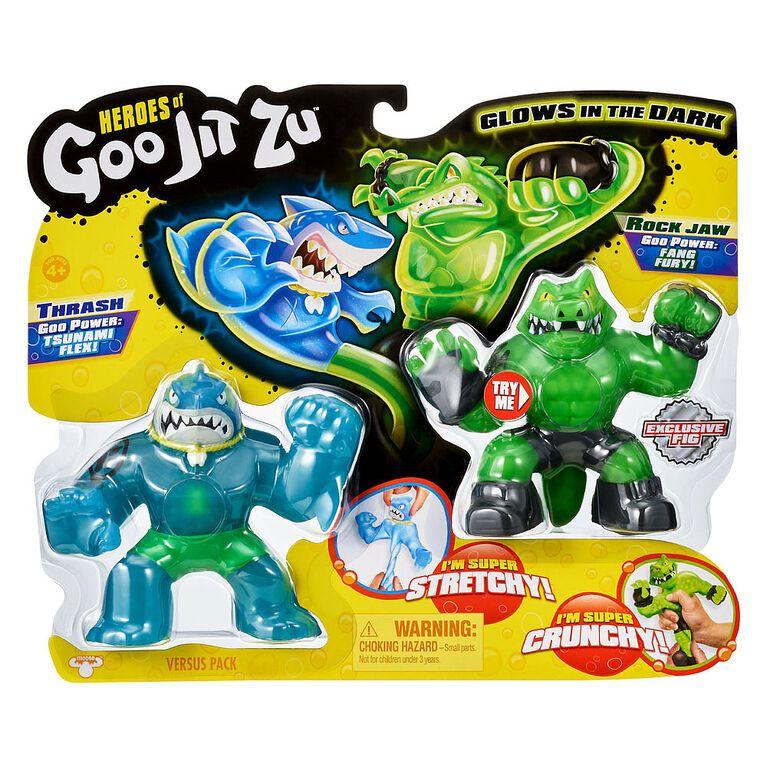 Heroes of Goo Jit Zu Versus Pack - Thrash vs Rockjaw