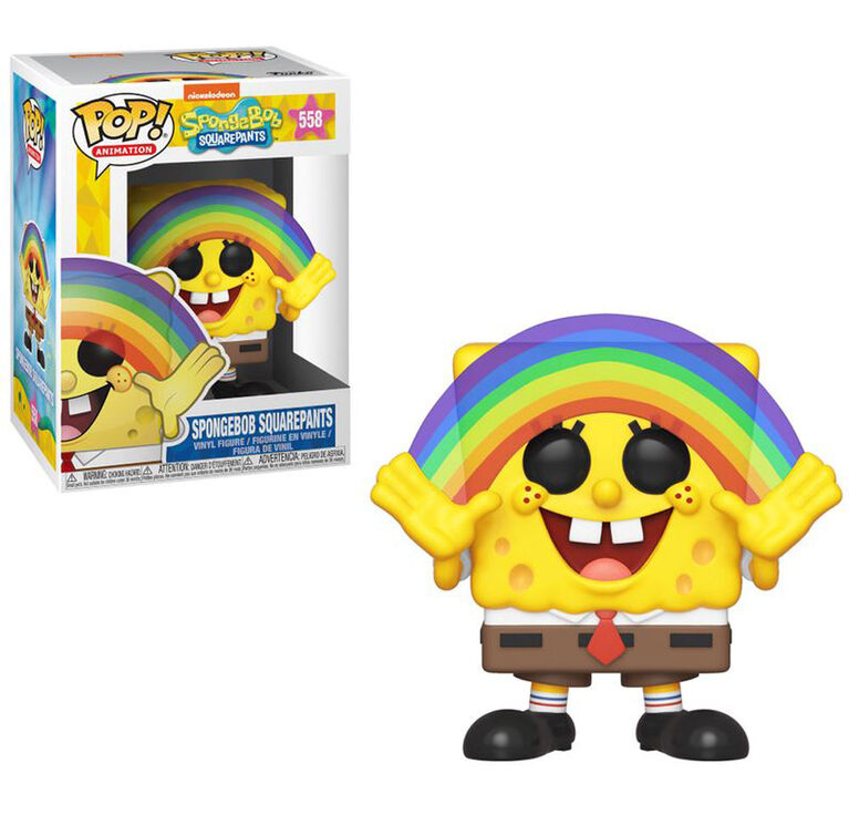 Funko POP! Animations: Spongebob Squarepants - Rainbow Vinyl Figure