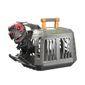 UnTamed jailbreak T - Rex Playset par les alevins - infrarouge (noir et rouge) - Dinosaur collectionneur interactif