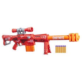 Nerf Fortnite, blaster Heavy SR, le blaster Fortnite le plus long - Notre exclusivité