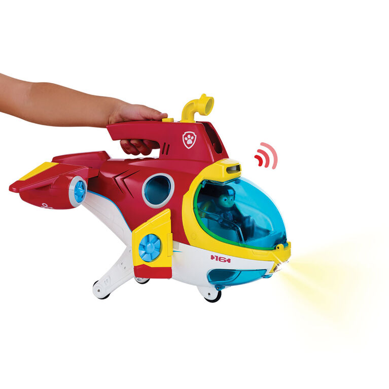PAW Patrol – Sub Patroller Transforming Vehicle with Lights, Sounds and Launcher