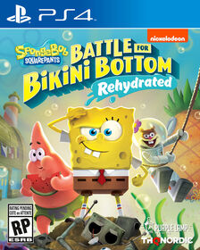 PlayStation4 - Battle Bikini Bottom Rehydrated