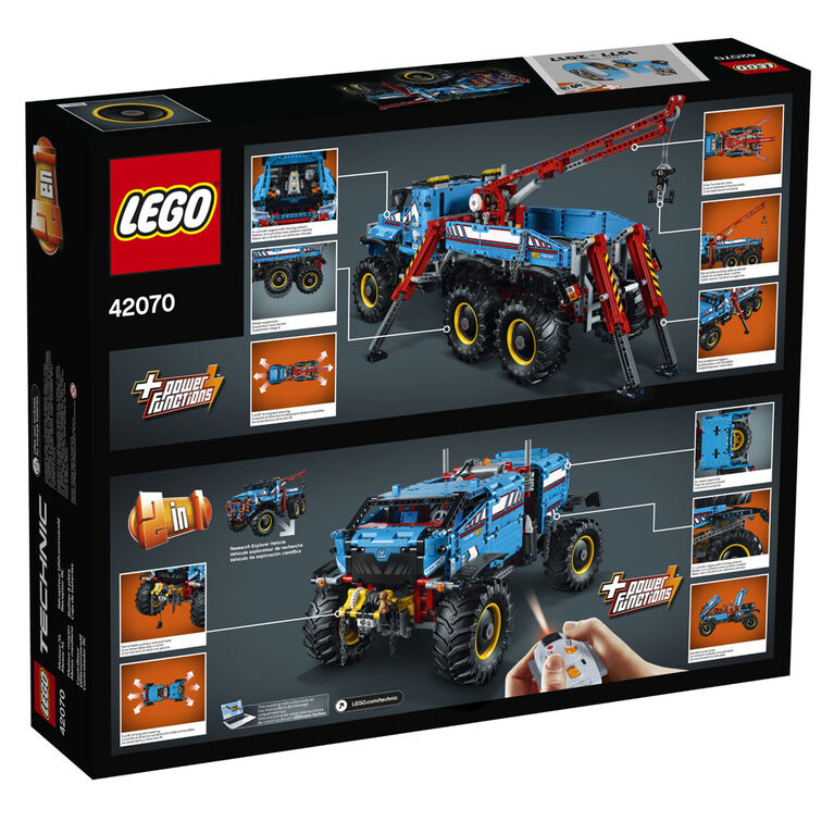 LEGO Technic 6x6 All Terrain Tow Truck 42070