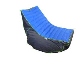 Boscoman - Cory Teen Lounger / Gaming Chair Bean Bag - Blue