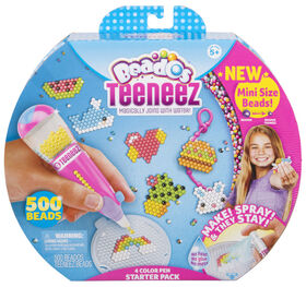 Moose- Beados Teeneez S1 4 Colour Pen Starter Pack