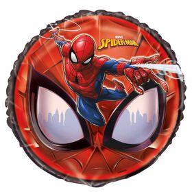 "Ballon aluminium rond, 18 "" - Spider-Man"