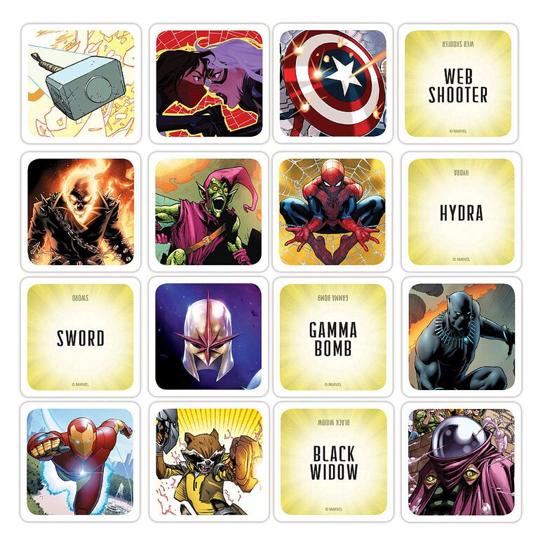 Codenames Game: Marvel