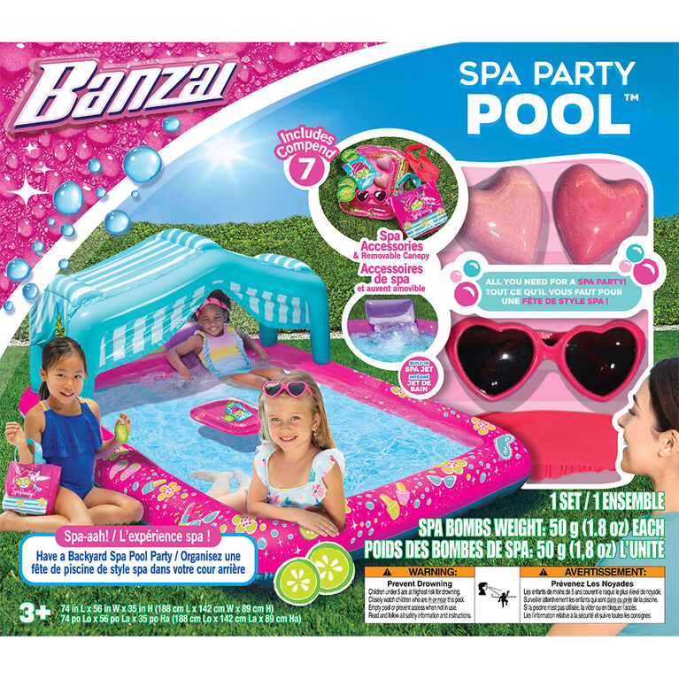 Banzai  Spa Party Pool