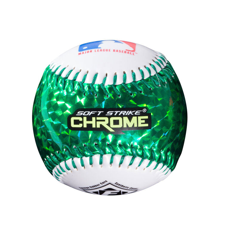 Franklin Sports MLB Soft Strike Chrome Tee Ball