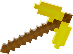 Minecraft Gold Pickaxe
