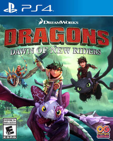 Dragons: Dawn Of New Riders - Play Station 4