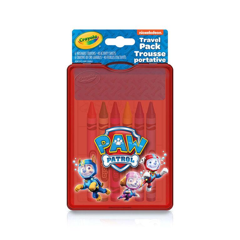 Crayola Paw Patrol, Travel Pack