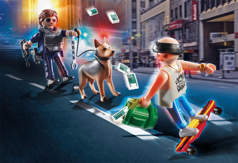 Ronde rue de ville - Playmobil