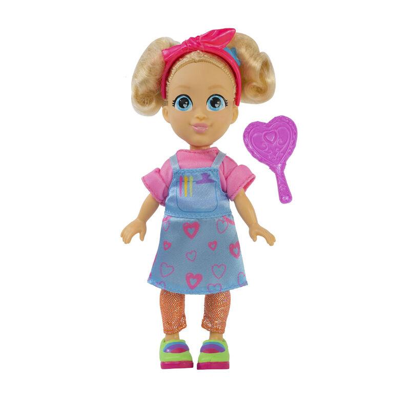 "Love, Diana - 6"" Hairdresser Diana Doll - English Edition"