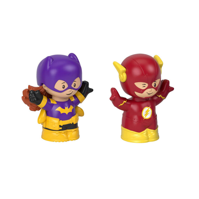 Fisher-Price Little People DC Super Friends Batgirl & the Flash