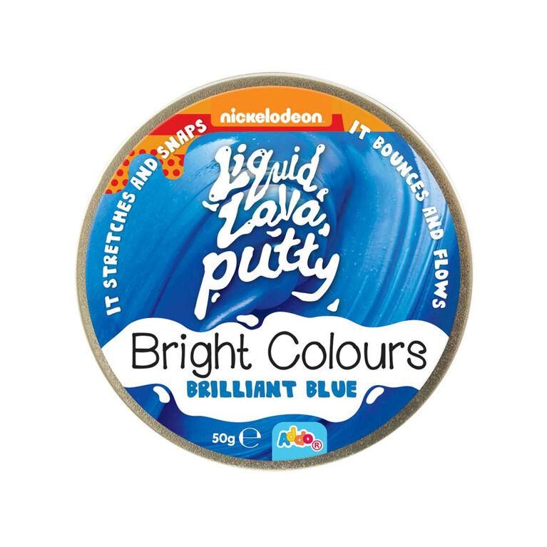 Nickelodeon Liquid Lava Putty Bright Colours Brilliant Blue - Notre exclusivité