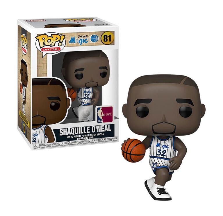 Figurine en Vinyle Shaquille O'Neal par Funko POP! NBA Légendes