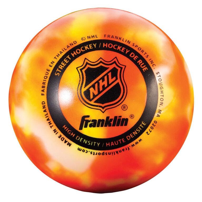 Franklin Sports NHL HI Density Street Hockey Ball - 3 Pack