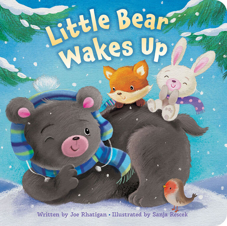 Padded Picture Book Little Bear - English Edition
