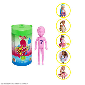 Barbie Color Reveal Chelsea Doll with 6 Surprises - Styles Vary
