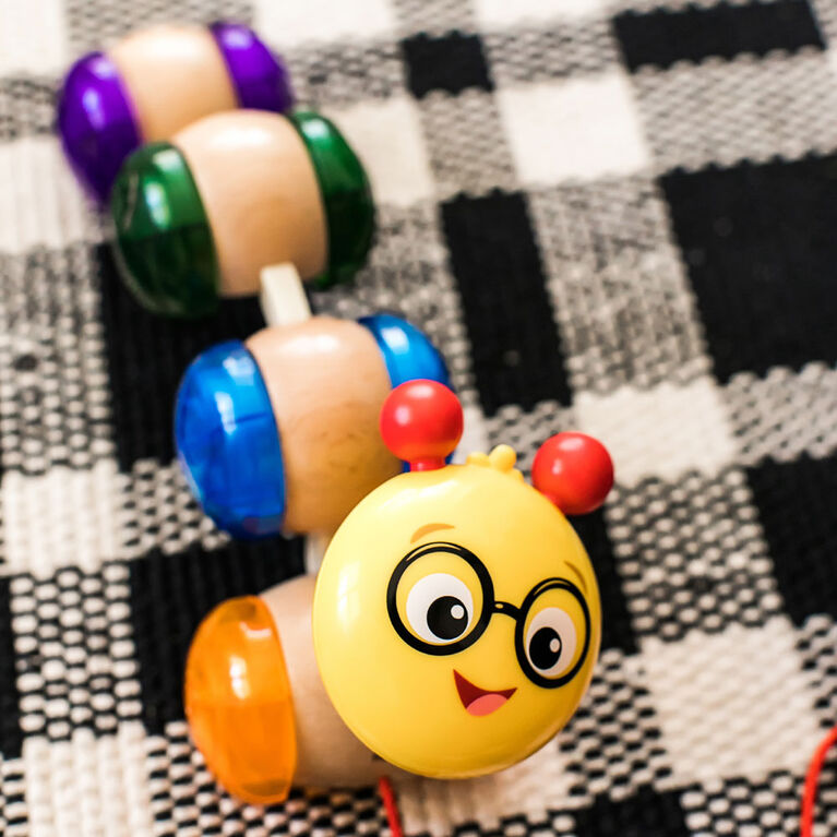 Baby Einstein Inch Along Cal Wooden Pull Toy