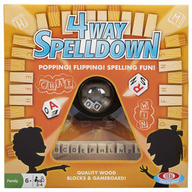Ideal 4-Way Spelldown Game