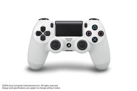 PlayStation 4 Dual Shock Controller White