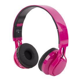 Casque d'écoute Bluetooth à l'épreuve des enfants de Kidstech - Rose