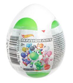 Hot Wheels - Mario Kart - Assortiment Yoshi Egg- Les styles varient