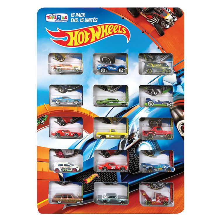 Hot Wheels - 15 Car Pack (Styles vary) - R Exclusive