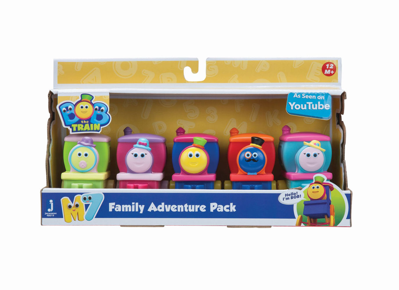 Bob le train Aventure familiale Pack véhicule 5-Pack