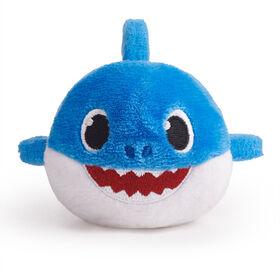 WowWee Pinkfong Baby Shark Plush Mini - Daddy Shark