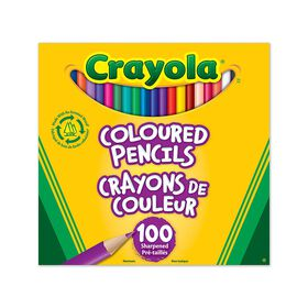 Crayola - 100 Coloured Pencils