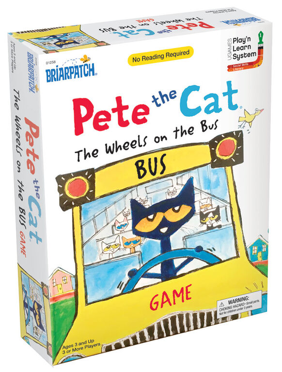 Pete les roues de chat sur le bus - Édition anglaise