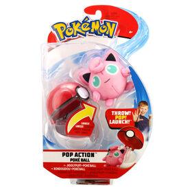 Pop Action Poké Ball - Jigglypuff & Poke Ball