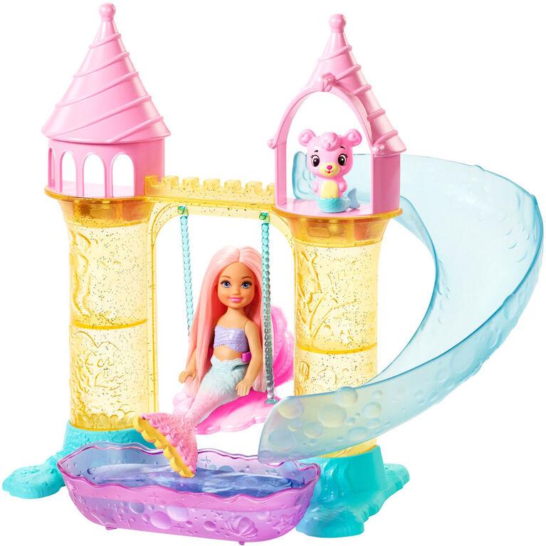 Barbie Dreamtopia Mermaid Playground Dolls and Playset