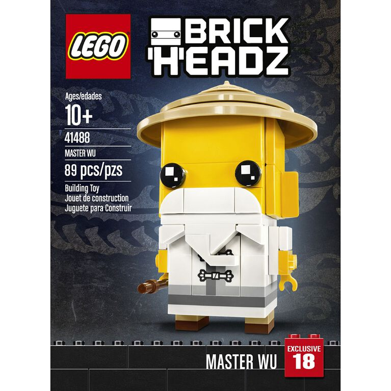 LEGO BrickHeadz Master Wu 41488