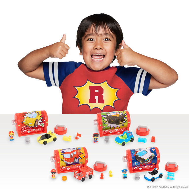 Ryan's Mystery Playdate Picture Puzzle Box - Racer Ryan - English Edition