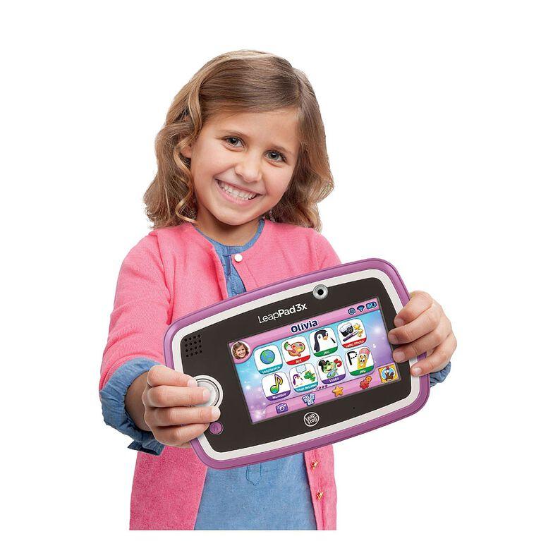 Tabette éducative LeapPad3x rose - Édition française