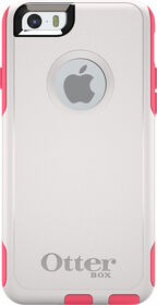 OtterBox Commuter iPhone 6/6s White/Blaze Pink