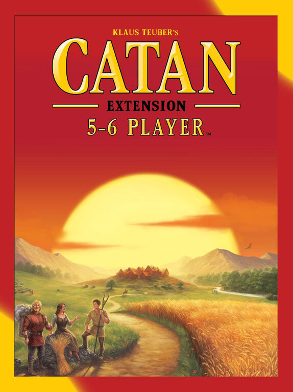 Catan: 5 To 6 Player Extension - English Edition