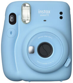 Fujifilm Instax Mini 11 Camera - Sky Blue
