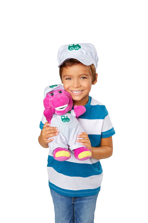Fisher-Price Barney Train Conductor Hat & Figure - English Edition