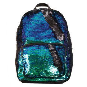 Magic Sequin Backpack Black