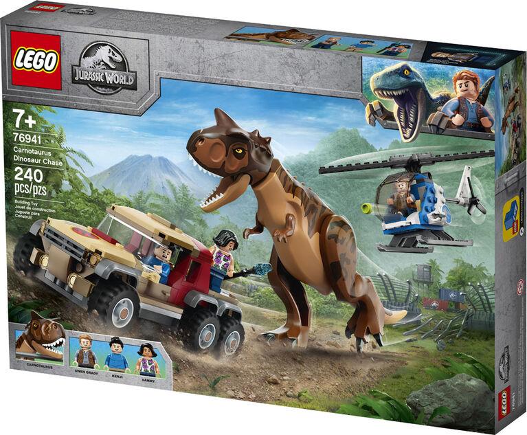 LEGO Jurassic World La poursuite du dinosaure Carnotaurus 76941