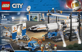 LEGO City Space Port Rocket Assembly & Transport 60229